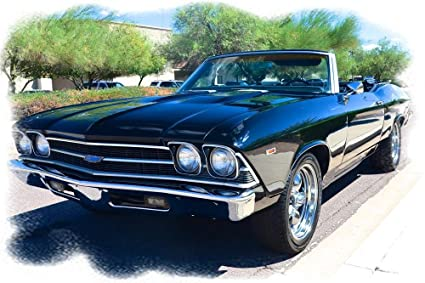 Old Chevy Cars >> Amazon Com 1965 Chevrolet Chevy Chevelle Convertible Slick