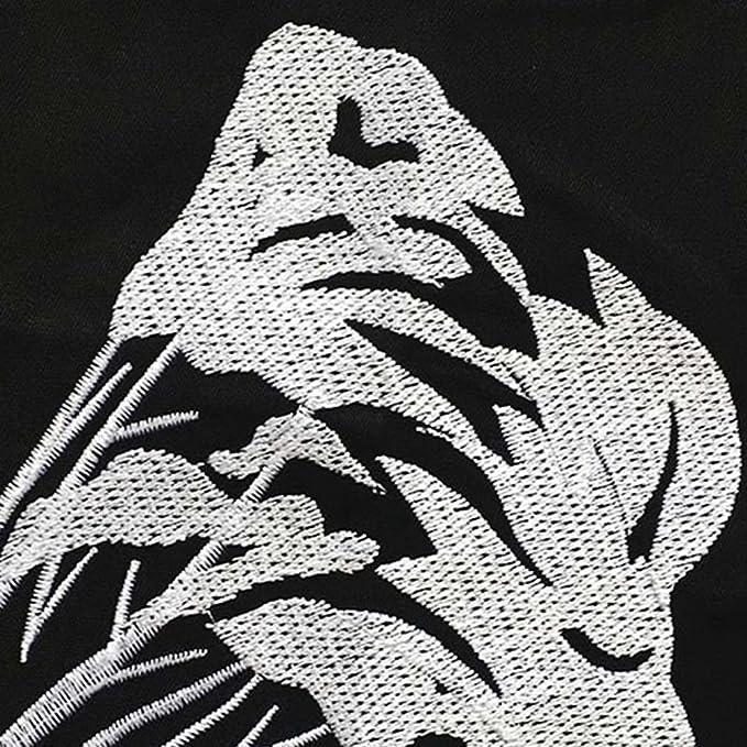 Xaviera Vintage Otoño Vestido Negro de Un Hombro Vestido bordado 1950 s Estilo White at Amazon Womens Clothing store: