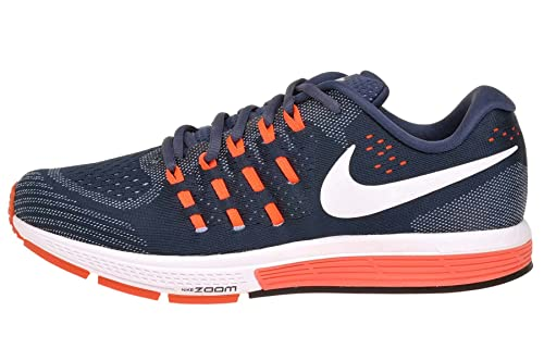 cheaper e819a 55e55 Nike Mens Air Zoom Vomero 11 14 Squadron Blue Blue Grey Total Crimson White   Buy Online at Low Prices in India - Amazon.in