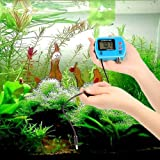 KKmoon Water Quality Tester, Mini Professional 3 in 1 Water Quality Tester Multi-Parameter Water Quality Monitor Online pH/ORP & Temp Meter Acidometer Water Quality Analysis Device