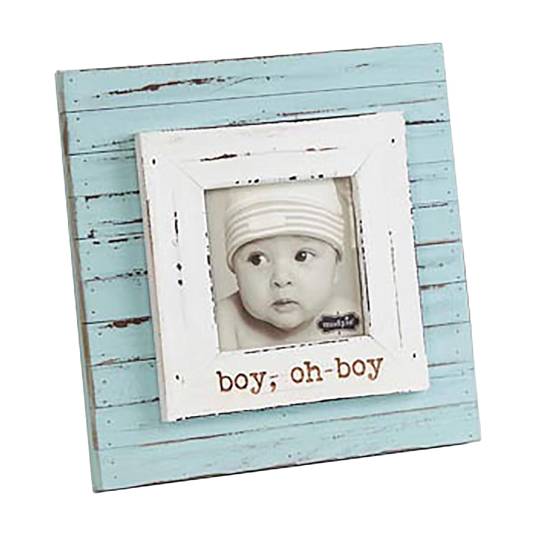 Mud Pie Picture Frame, Baby Boy 177141 22330