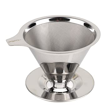 hicollie edelstahl kaffeefilter wiederverwendbar kaffee filter
