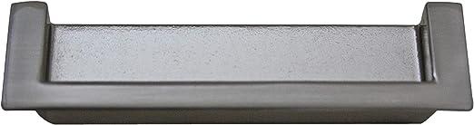 Tirador empotrado para puerta corredera (aspecto de acero inoxidable): Amazon.es: Bricolaje y herramientas