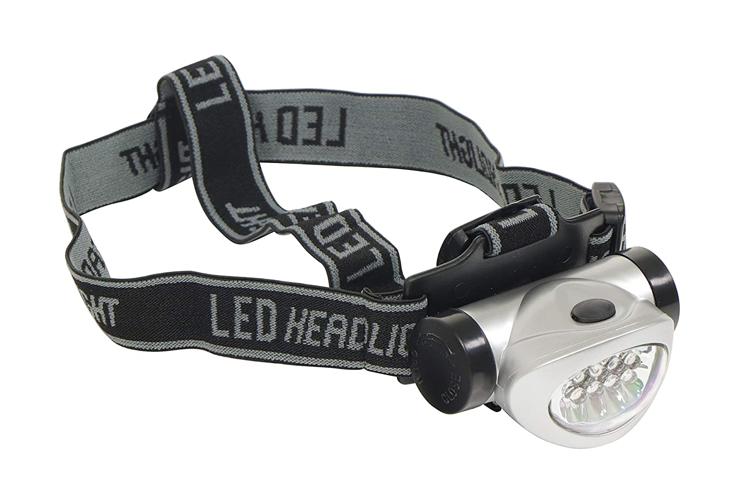 SWLR12 8 LED Head Lamp Torch Light Water Resistant