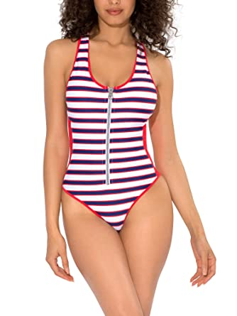 43abd39d7d0 Smart+Sexy Women s French Cut One Piece Swimsuit at Amazon Women s ...