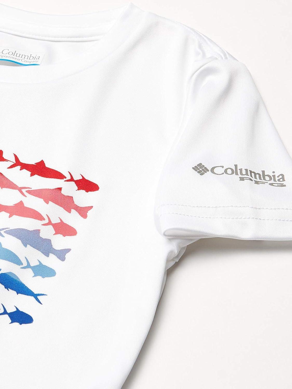 Sun Protection Columbia Girls/' PFG Reel Adventure Short Sleeve Tee Shirt