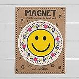 "Natural Life ""Smiley Face"" Car Magnet"