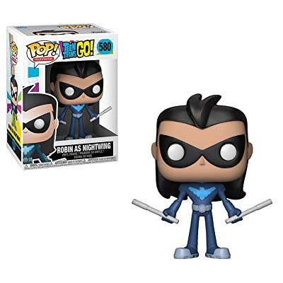 Funko Pop! TV: Teen Titans Go! - Robin As Nightwing Collectible Toy: Funko Pop! Television:: Toys & Games