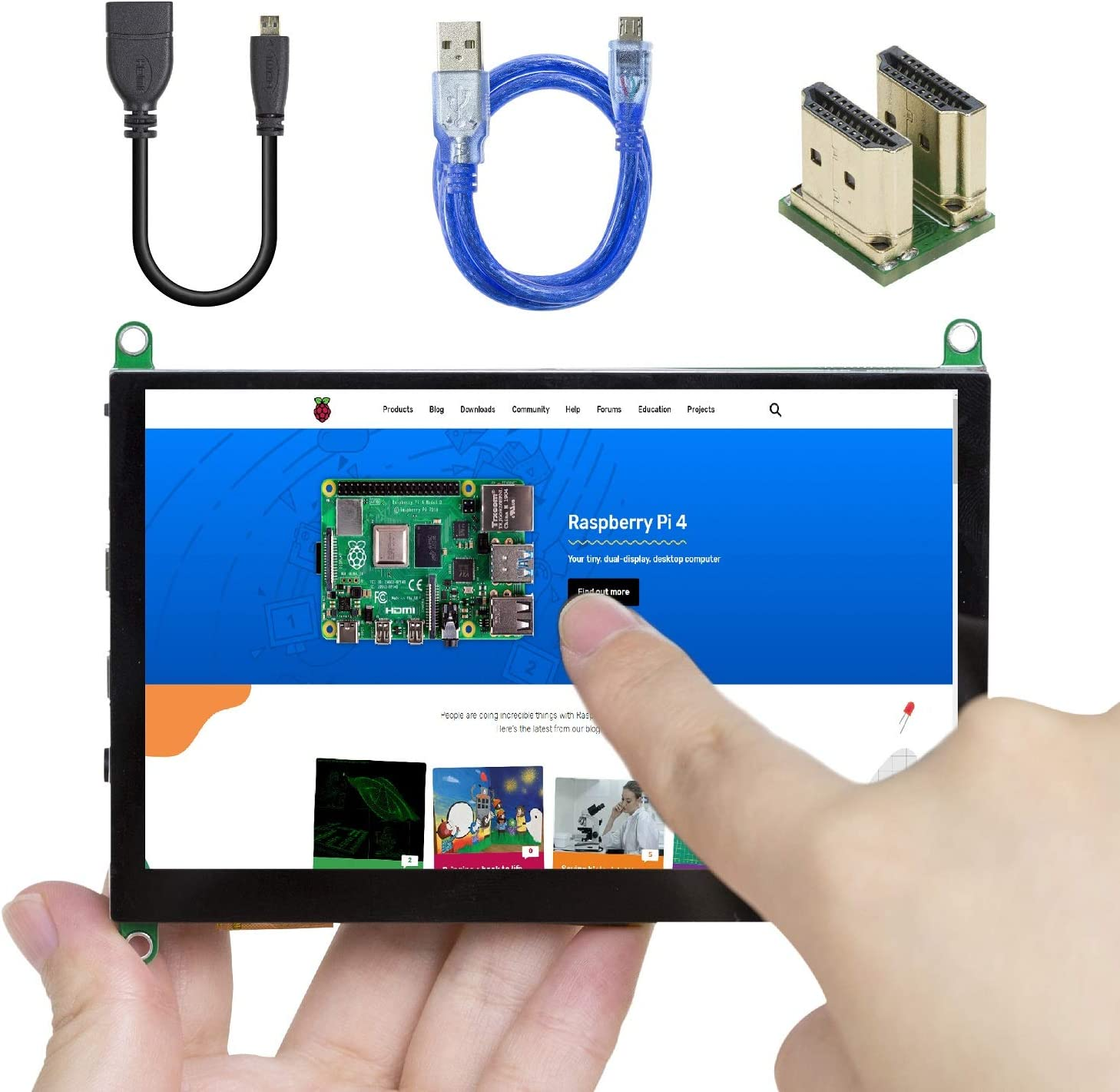 Replacement for PARTS-SC-ADPT-025 Based ON The Raspberry PI Zero The SC-ADPT-025 Serves AS A Dual Display Adapter