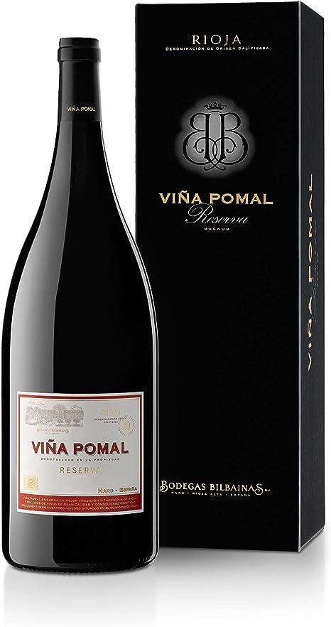 Viña Pomal | Estuche regalo Vino Tinto Reserva Magnum Viña Pomal Reserva 2013 | Botella 1,5 L: Amazon.es: Alimentación y bebidas
