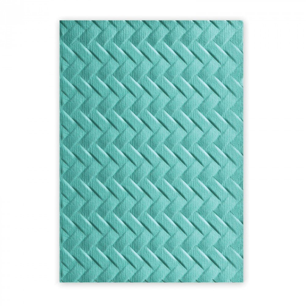 Sizzix 661259 Cartella di Goffratura Triangoli Marmorizzati di Katelyn Lizardi, PP Plastic,, 17.9x12.2x0.4 cm Ellison Europe