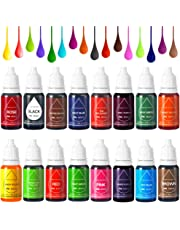 Colorante Alimentario Liquido Food Dye Coloring Set 16x11ml, Alta Concentración Líquido Set Para los Bebidas