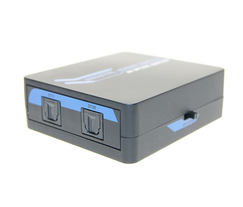 ExPro AVPro Way TosLink Digital Optical Audio Amazoncouk - 2 way optical switch