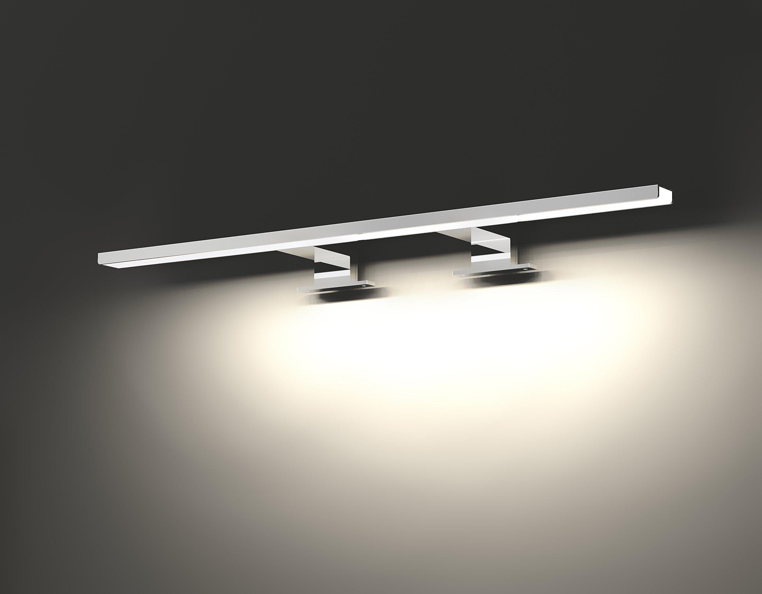 Led Vanity Light Mirror front Light, 11W 750-800 Lumen Bathroom Light Make-Up Wall Light Mirror Light (29.13 inch Natural)