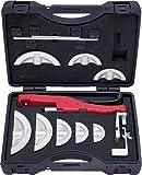 KS Tools 203.1400 Jeu de cintreuse à main 10-22 mm 11 pièces