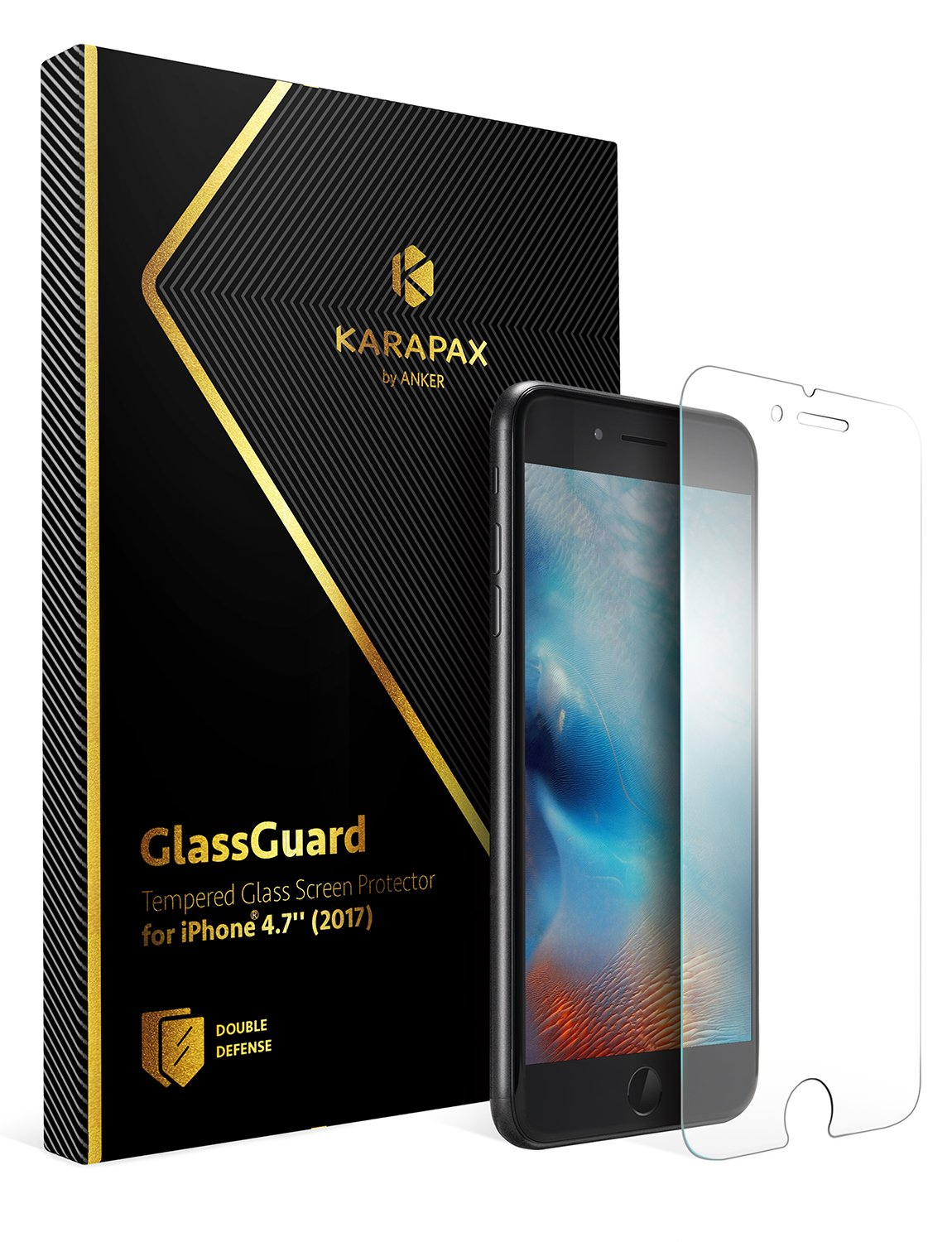 Anker KARAPAX GlassGuard(iPhone 8 / 7)
