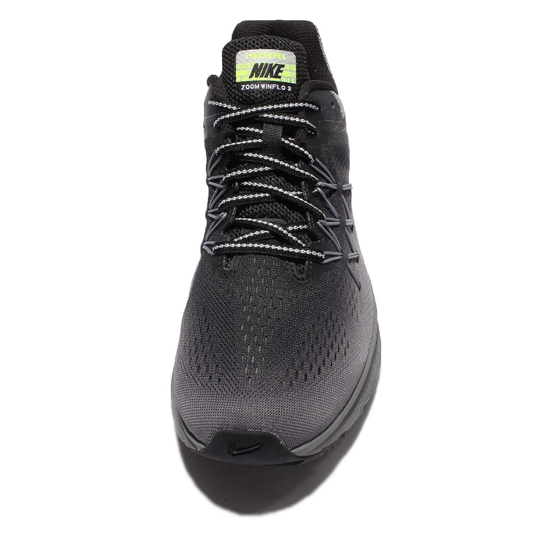 fb6357b6711d Amazon.com  Nike Air Zoom Winflo 3 Shield Black Black Cool Grey Wolf Grey Men s  Running Shoes  Everything Else