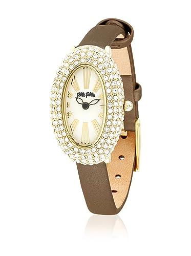 Folli Follie Reloj con Movimiento Miyota Woman Cla-Classy 21 mm: Amazon.es: Relojes