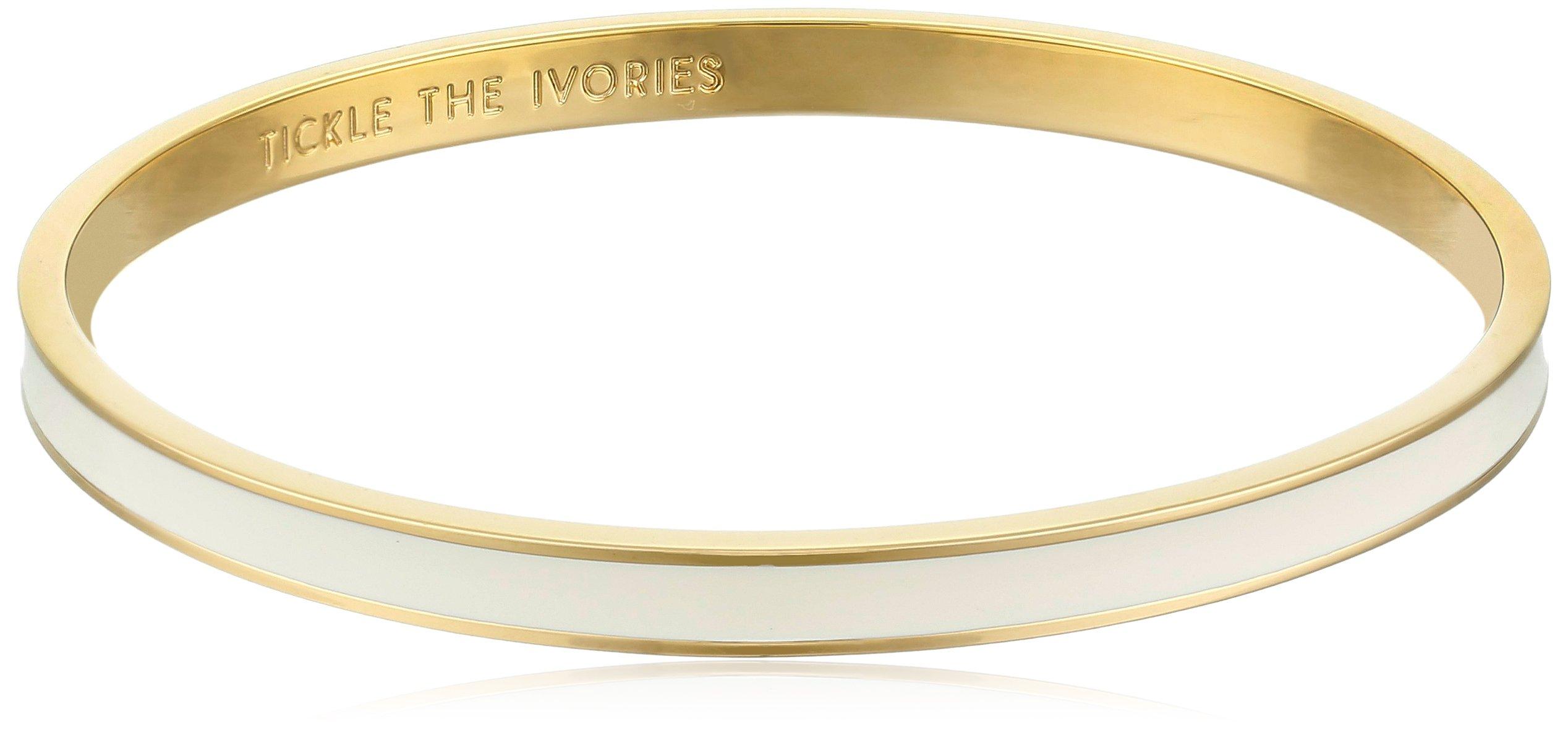 Kate Spade New York ''Tickle The Ivories Cream Idiom Bangle Bracelet