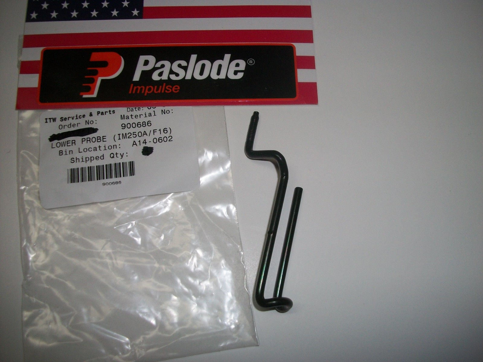 Paslode Part # 900686 Lower Probe 16 Gauge Nailer 900600 and 902000