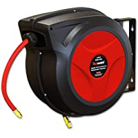 ReelWorks Retractable 50-Foot Hose Reel