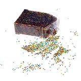 sevenmye Wasser Perlen (40000Perlen Pack) Rainbow Mix Jelly Wasser in Perlen Bullet für Kinder Wasser Pistole Spielzeug Taktile Sensorische Spielzeug, Orbeez Mine, Vase, Pflanzen Decor, Hochzeit und Home Dekoration, 40000 pices