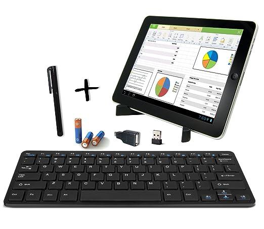 Ultra delgado Mini teclado inalámbrico y portátil ejecutabilidad ...
