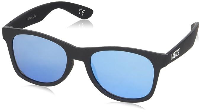 2bde0ea33f2e26 Vans Herren Sonnenbrille SPICOLI FLAT SHADES Black-Light Blue 1 ...