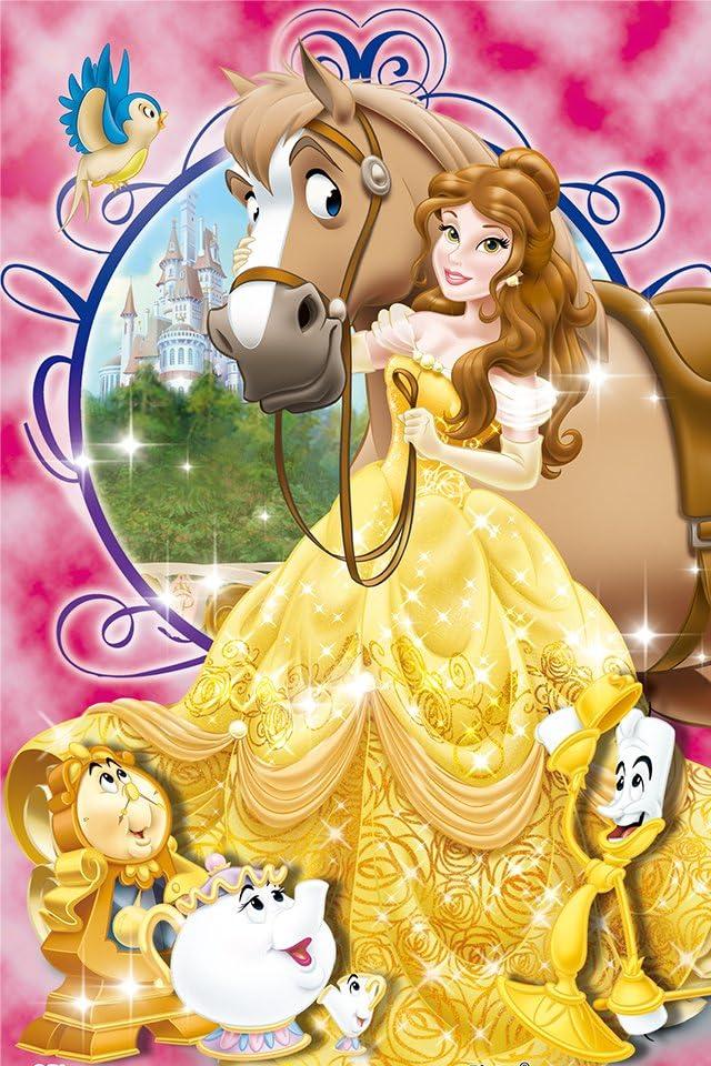 ディズニー 美女と野獣 ベル iPhone(640×960)壁紙画像