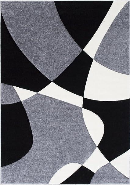 Amazon Com Modern Geometric Oval Waves Swirls Design Contemporary 5