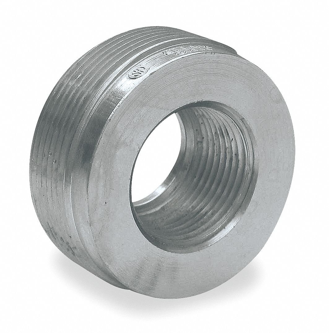 Reducing Bushing, Steel, Male to Female Connection, 2 to 1'' Conduit Size