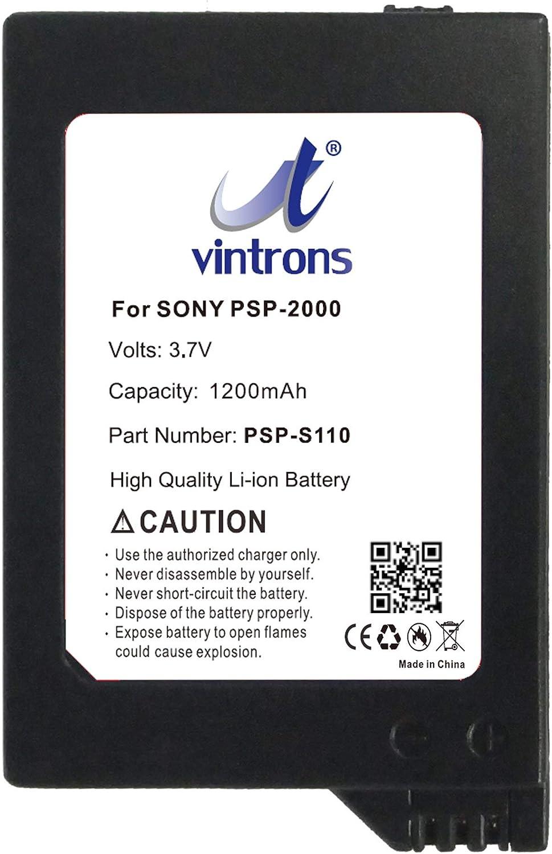 Bateria PSP-S110 para Sony PSP-2000, PSP-3000, PSP-3004