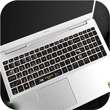 Funda protectora de teclado para ordenador portátil Dell ...