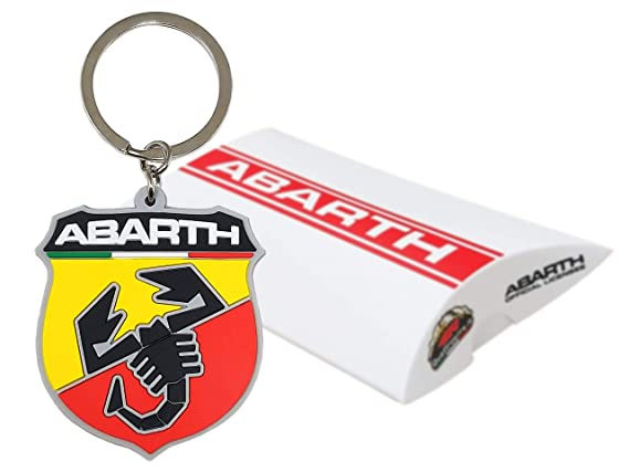 escudo Key Ring. Abarth 21754/Suave al tacto