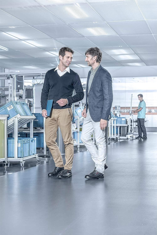 Uvex Business Casual S1-Leder-Arbeitsschuhe f/ür Herren mit Stahlkappe