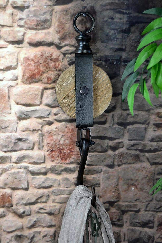 Livitat® Wandhaken Wandhaken Wandhaken Flaschenzug Metall Industrie Design Vintage Loft LV5095 Set B00E60X36I Mehrzweckhaken 3a46af