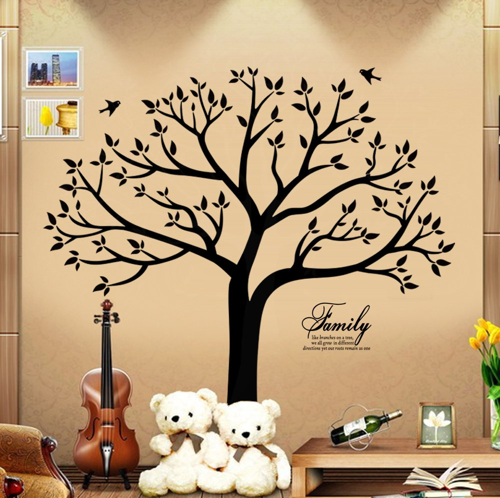Amazon.com: Family Wall Decal~Family Tree Wall Decal Stickers Living ...