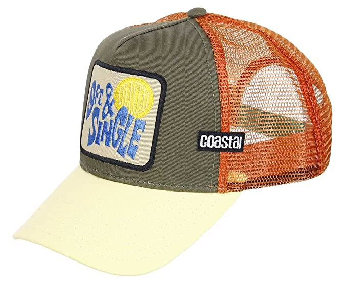 new styles amazing selection better COASTAL - Casquette de Baseball - Homme Multicolore Olive ...
