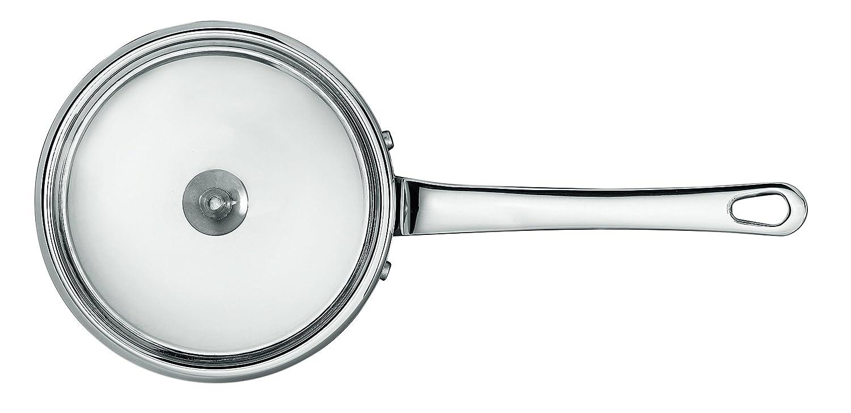 Stainless Steel SCANPAN Maitre D Saucepan with Lid 20 x 10 x 10 cm