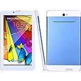 'BM WiFi 3G del telefono chiamante phablet Tablet PC da 7pollici/7Android 5.1mtk8321Quad Core 1.3GHz GPS Bluetooth Dual SIM Dual telecamere FM gioco di memoria LED capacitivo Multi Touch Schermo del Personal computer blu Blau
