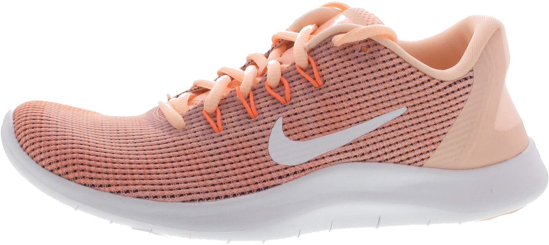 a944d6bb47dd7 Galleon - NIKE Womens Flex 2018 RN Running Shoes (9 B(M) US