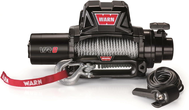 WARN 96800 VR8 12V Electric Winch