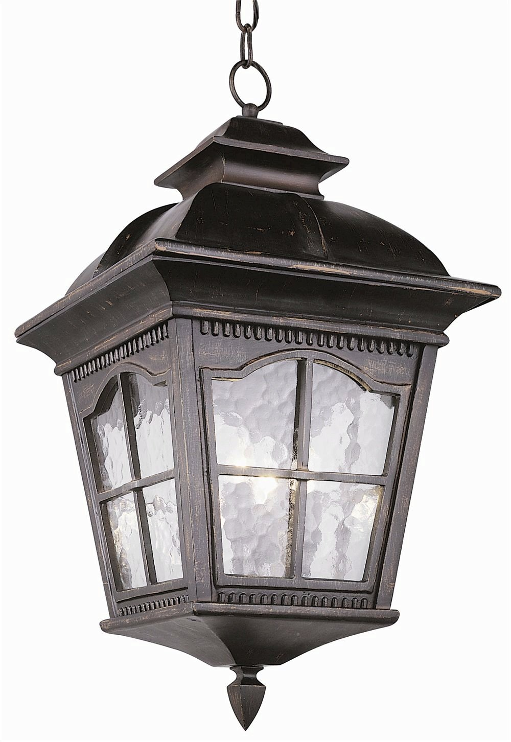 Trans Globe Lighting 5421 AR Outdoor Briarwood 21.25'' Hanging Lantern, Antique Rust by Trans Globe Lighting