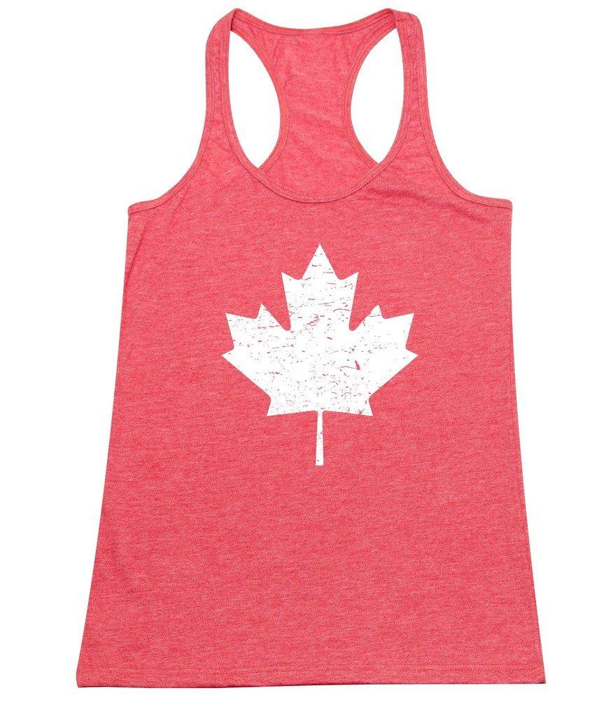 P B Canada Maple Flag Vintage Tank Top 2612 Shirts