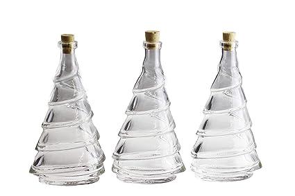 autooptimierer. de Premium botellas de cristal (con tapón de corcho en el árbol Diseño