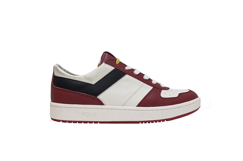 Pony City Wings Low Sneakers, rojo, negro, 45 45|rojo, negro