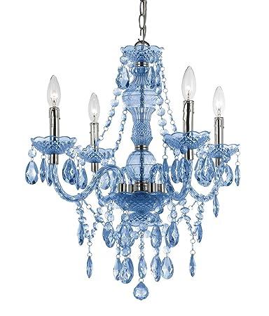 Af lighting 8352 4h naples four light mini chandelier light blue af lighting 8352 4h naples four light mini chandelier light blue aloadofball Gallery