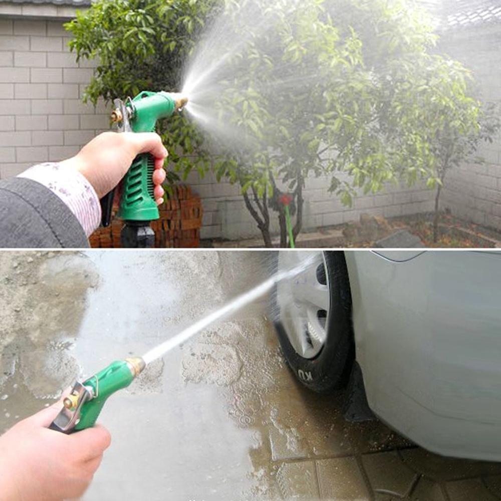 Loveje Car Adjustable High Pressure Washer Water Gun Garden Hose Water Sprayer Gun (1 Piece)