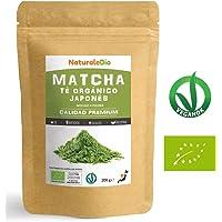 Té Verde Matcha Orgánico Japonés En Polvo [ Calidad Premium ] 200g. Té Matcha Biológico Japonés. Té Bio Grado Premium. Matcha Ecológico Cultivado En Japón, Uji, Kyoto. Ideal Para Beber, Cocina, Latte