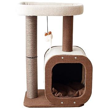 Amazon.com: Catry Torre de árbol para gatos de 24 pulgadas ...